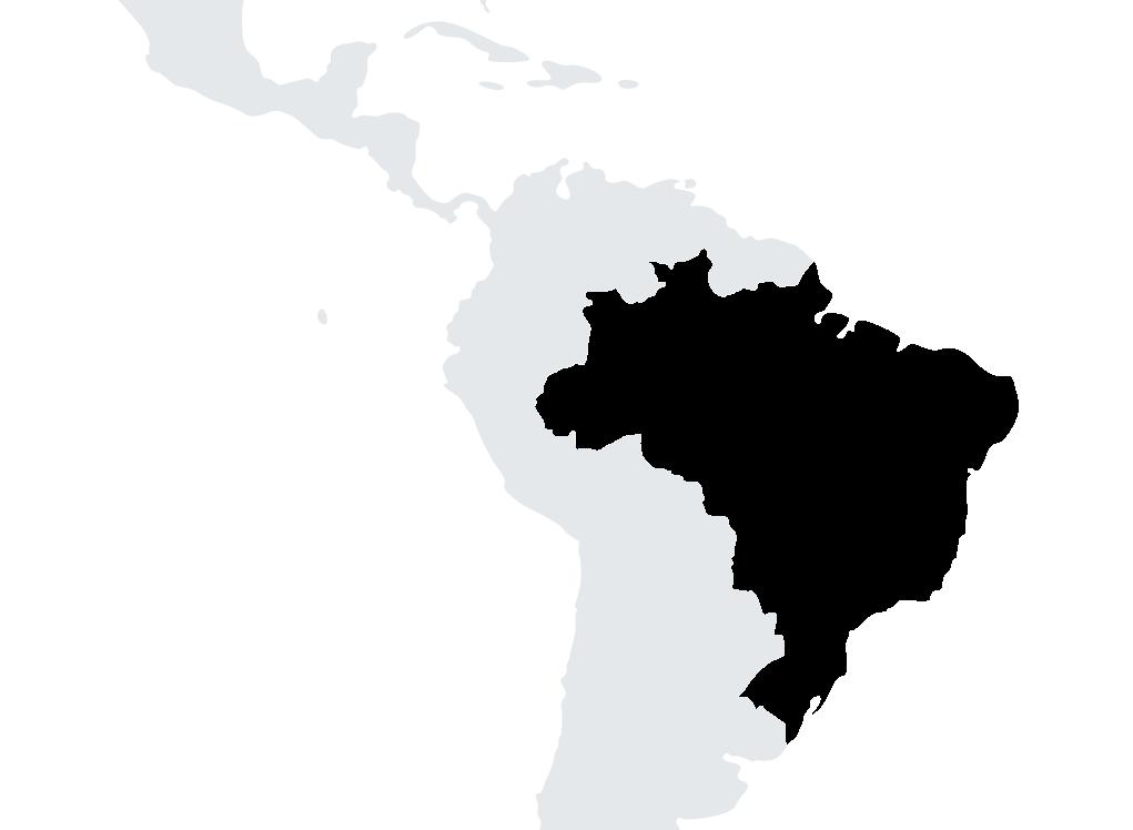 map Brazil