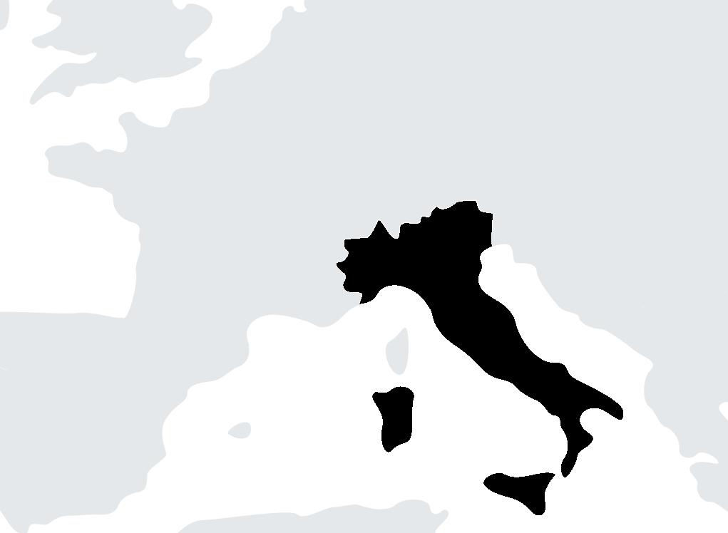 map Italy