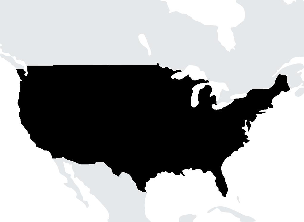 Map United States
